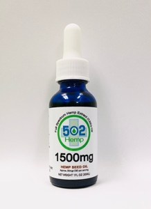 1500mg Natural CBD with Hemp Seed Oil