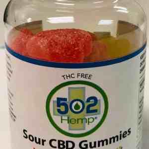 THC Free Sour Gummies