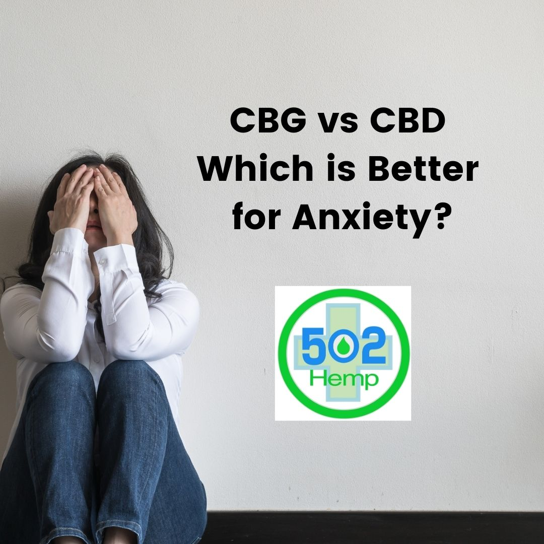 CBG vs CBD: Which Could Be Better for Anxiety?