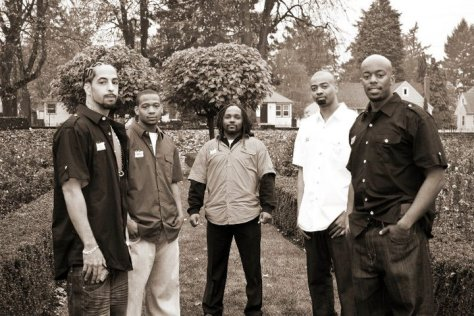 Dre, Krutch, Solo, Malik & Sai (left to right)