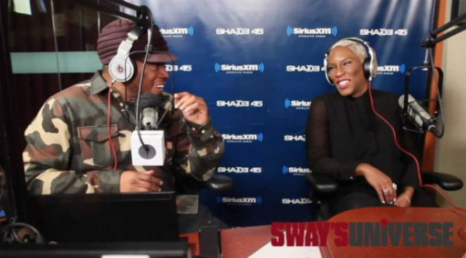 Liv Warfield Interviews with Sway In The Morning
