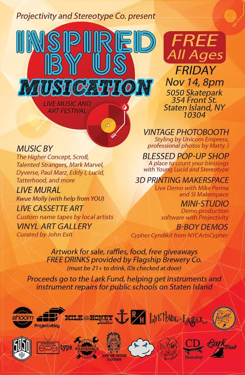 Inspired By Us - Musication 11-14-14