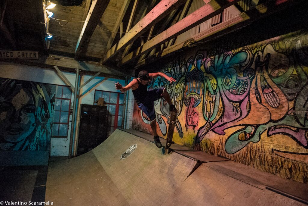 New Skater at 5050 Skatepark 2015 photo Valentino Scaramella