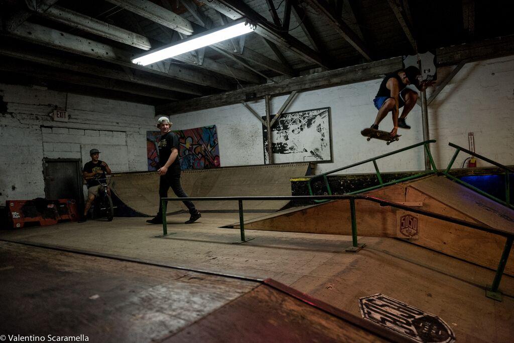 Skater 2 at 5050 Skatepark 2015 photo Valentino Scaramella