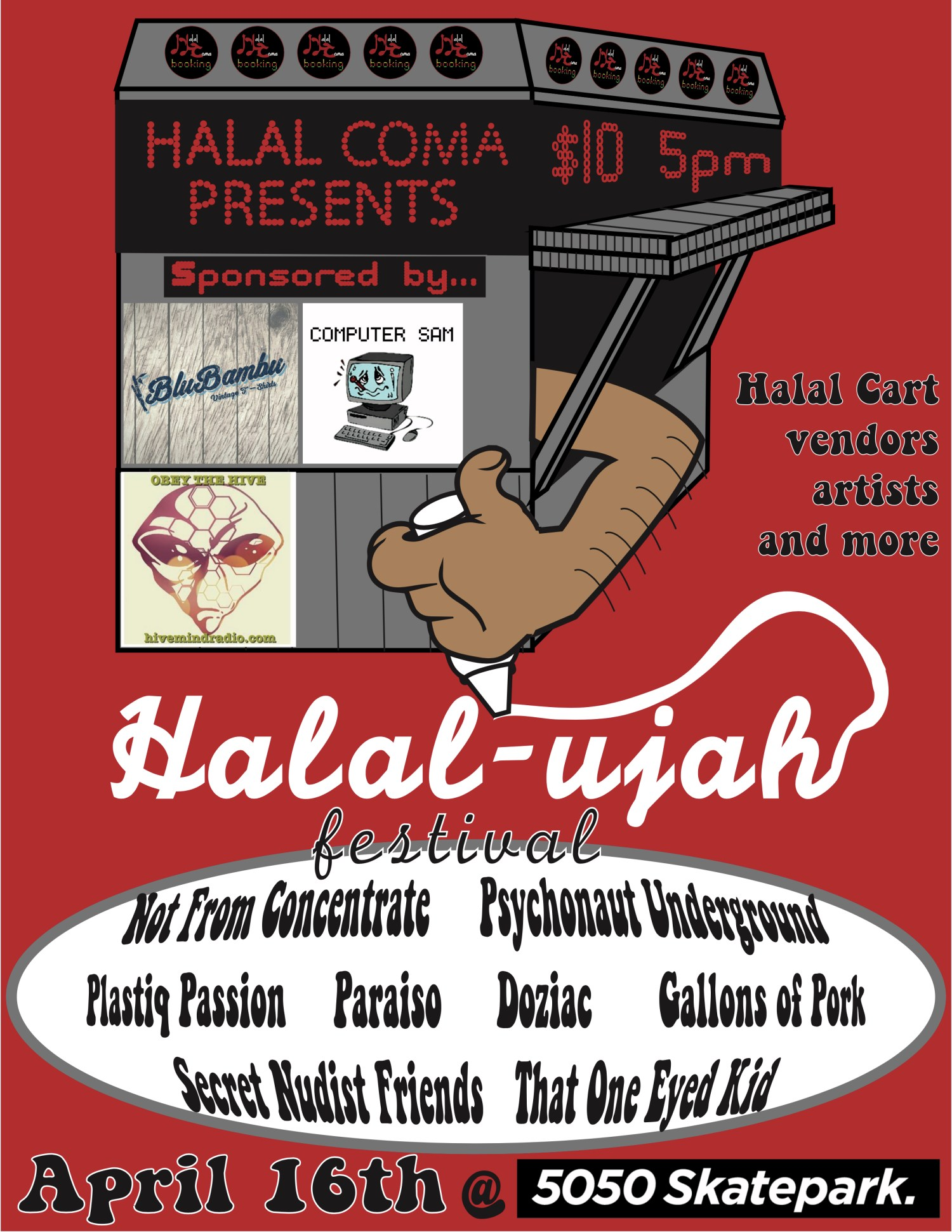 halal coma cart poster update 3.6
