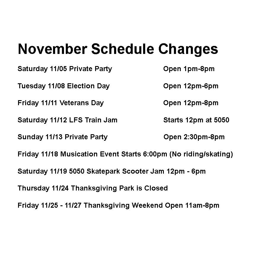 nov-schedule