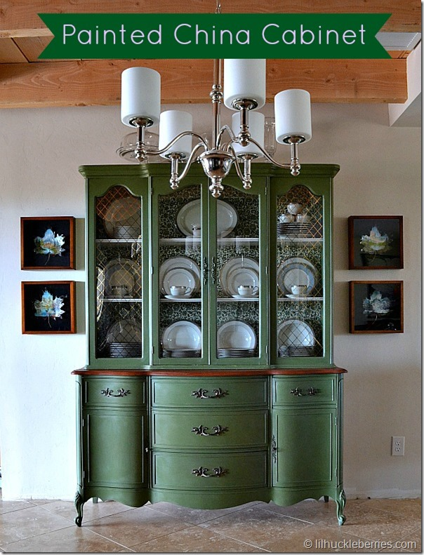Attirant China Cabinet Pin Image Painted China Cabinet