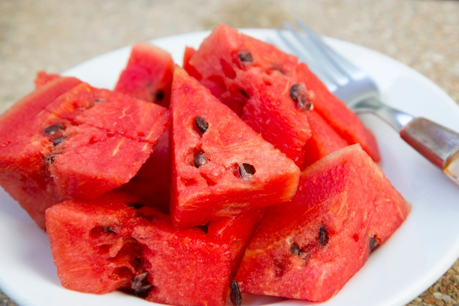 Watermelons slices