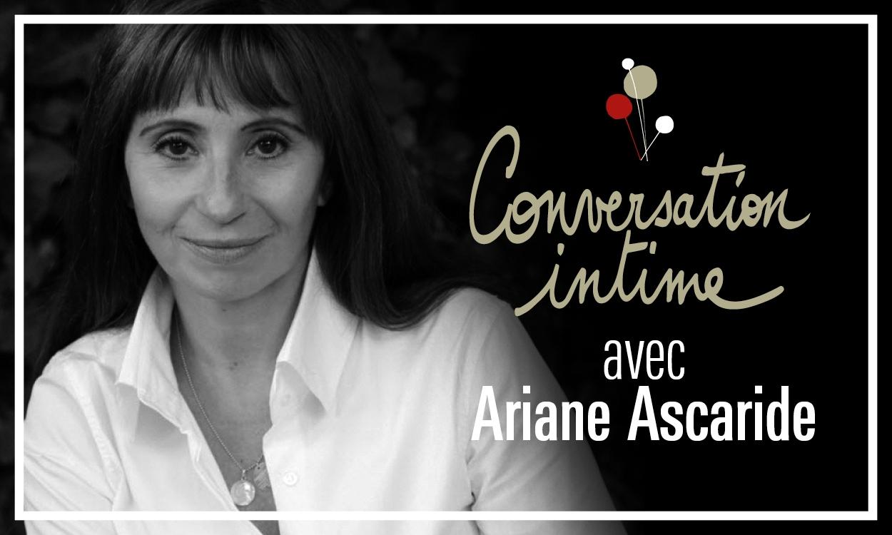 Conversation intime théâtre national de Nice Ariane Ascaride