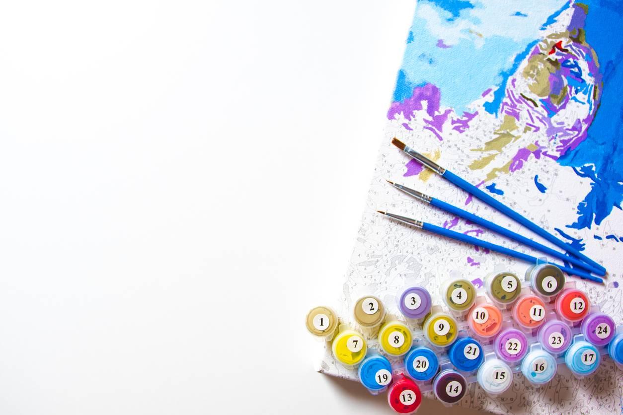 idee cadeau la peinture par numéros