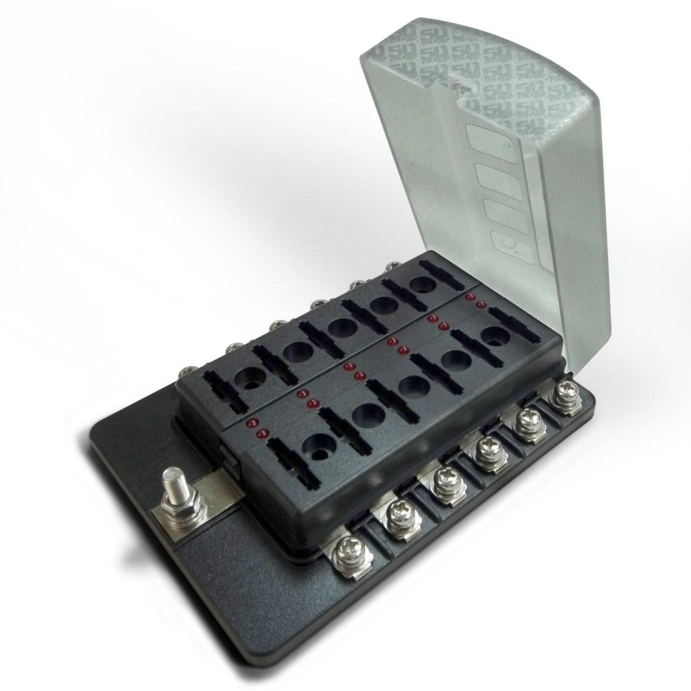 medium resolution of  12 way standard led circuit blade fuse box