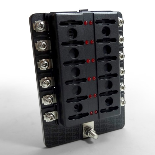 small resolution of  12 way standard led circuit blade fuse box