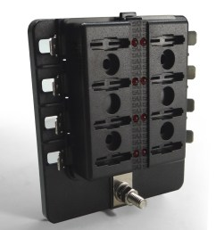 8 way standard led circuit blade fuse box  [ 1600 x 1600 Pixel ]