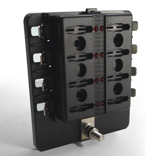 small resolution of  8 way standard led circuit blade fuse box