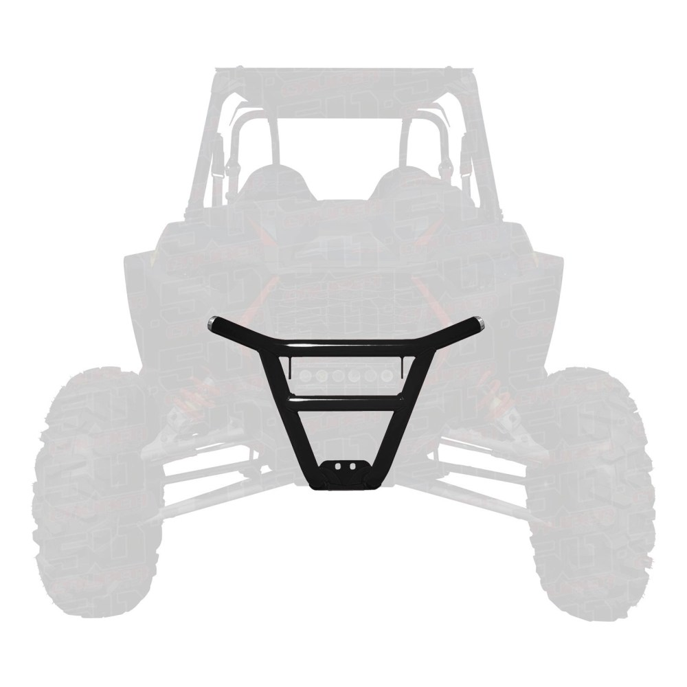 medium resolution of details about 50 caliber racing 2019 rzr xp1000 tubular front bumper black