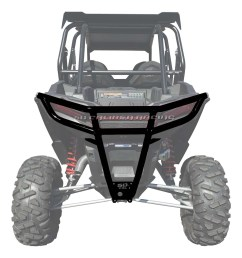 details about 50 caliber racing 2019 polaris rzr xp1000 rear bumper black [ 1600 x 1600 Pixel ]