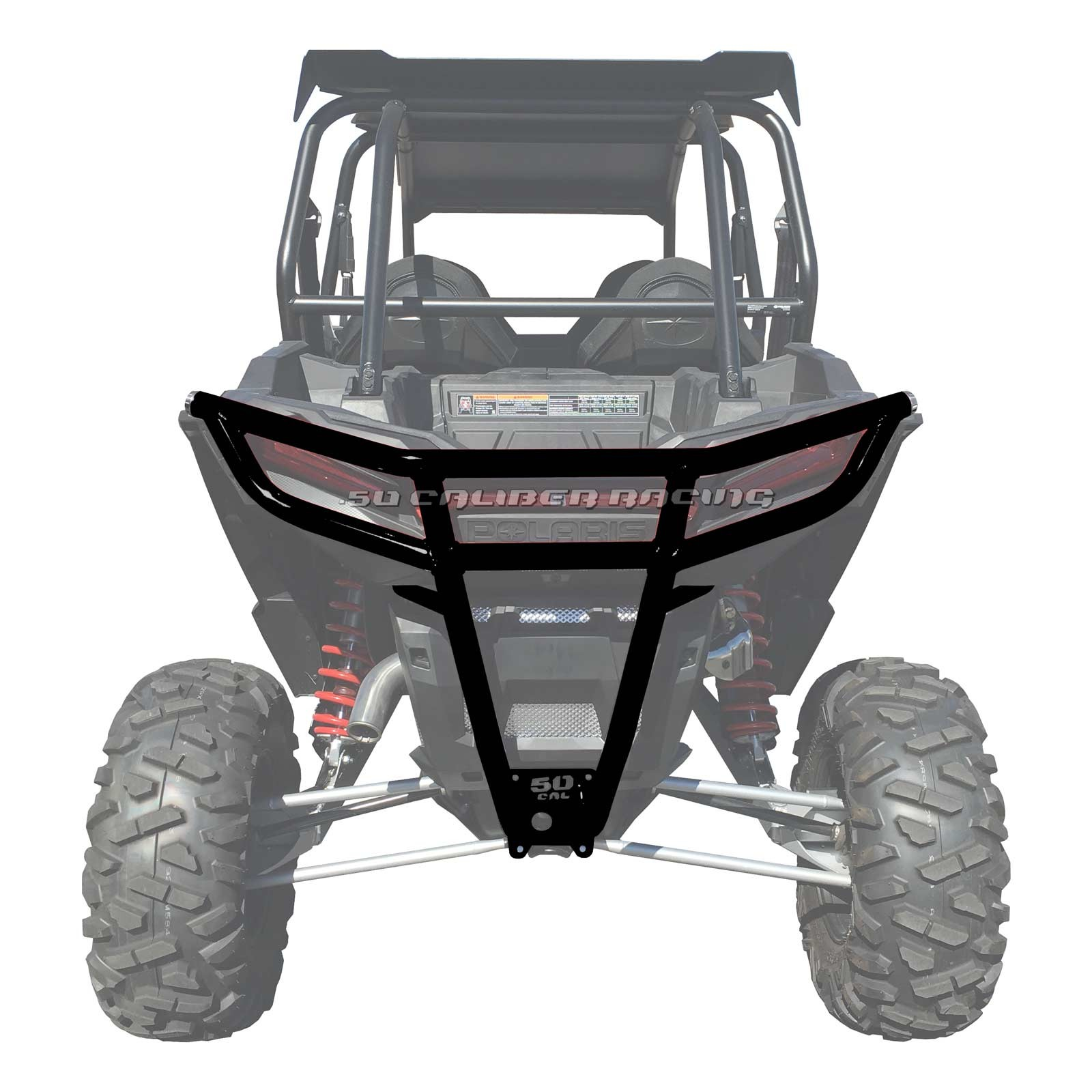 hight resolution of details about 50 caliber racing 2019 polaris rzr xp1000 rear bumper black