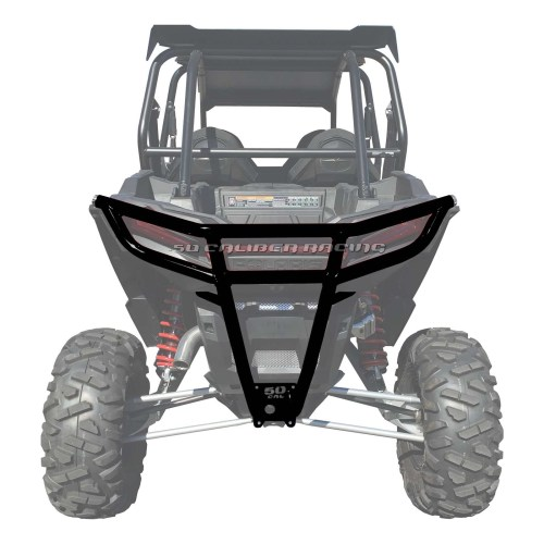small resolution of details about 50 caliber racing 2019 polaris rzr xp1000 rear bumper black