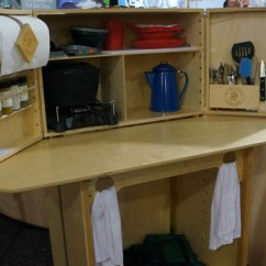 Portable Kitchen Island Making Cabinets My Camp The Summit - 50 Campfires