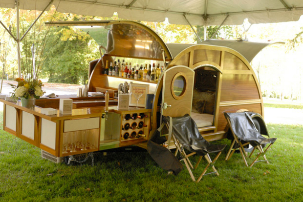 10 Groovy Teardrop Trailers Youll Love  50 Campfires