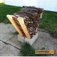 The Renaissance Mom: DIY Firewood Rack- Super Easy and ...