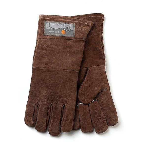 These leather gloves are great for winter grilling and summer grilling.