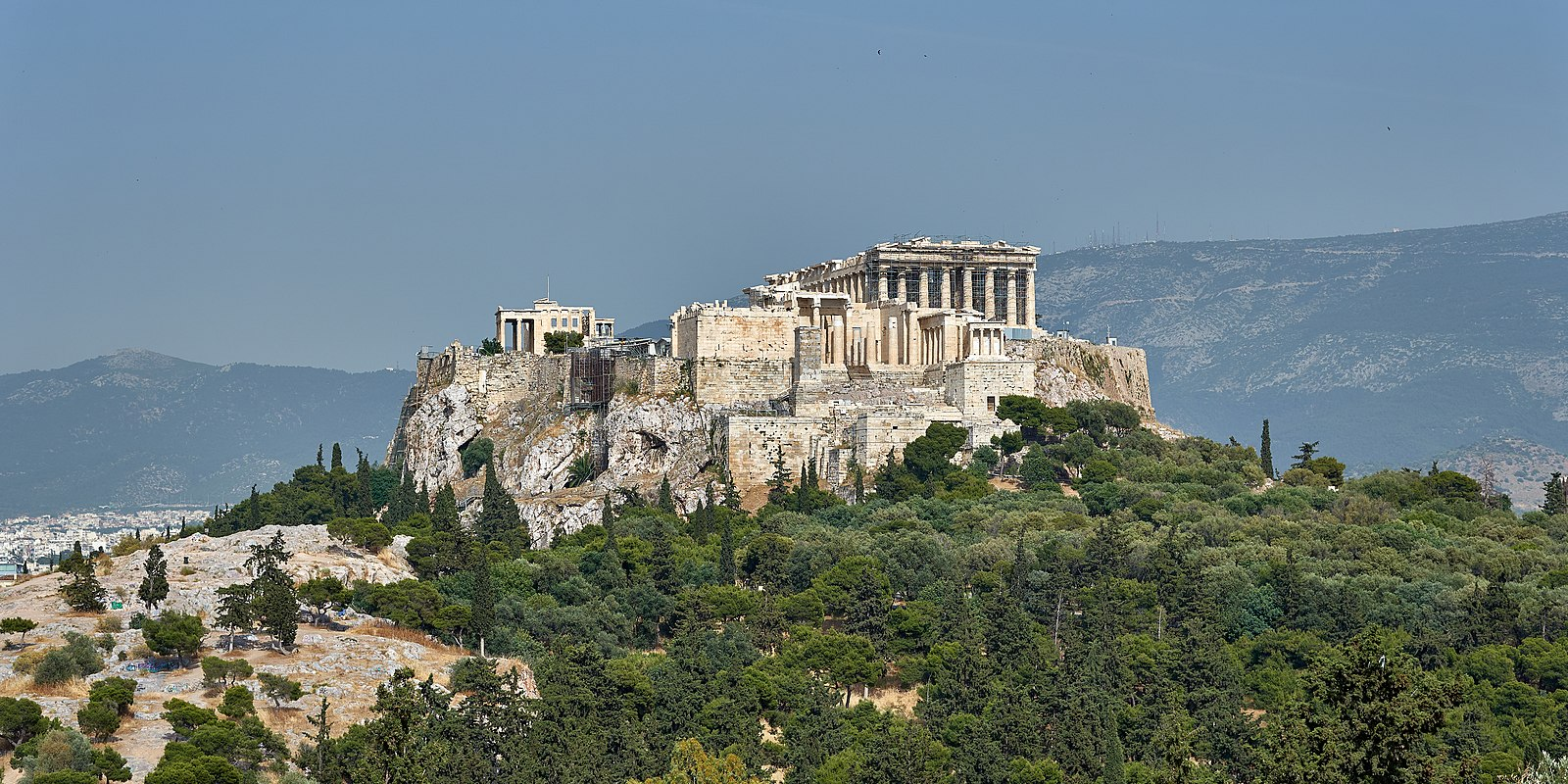 Areopagus and Acropolis