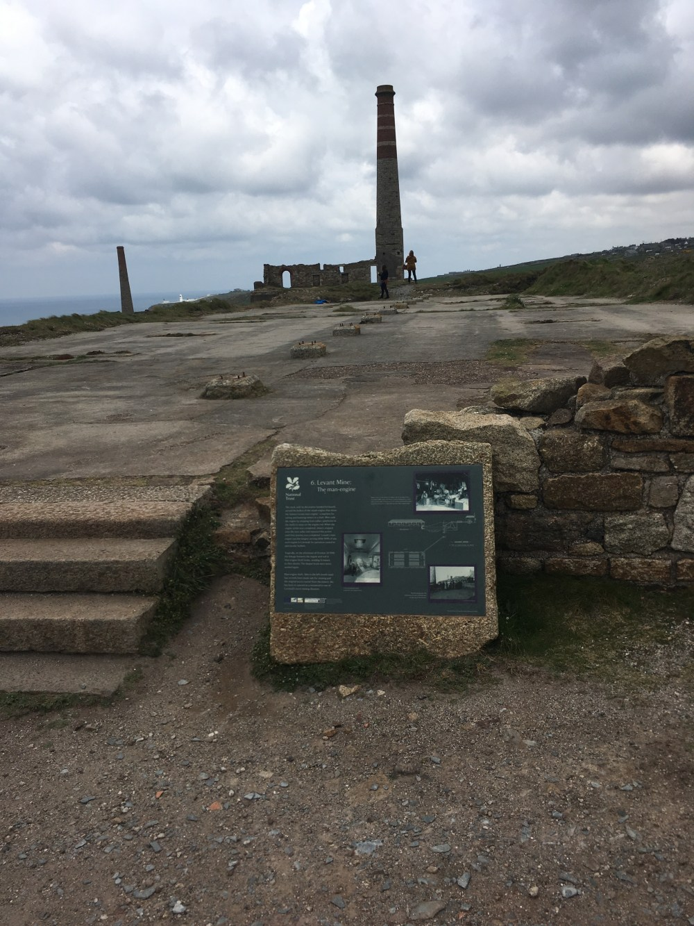 Levant Mine, 2 miles from Pendeen Watch (LEJoG Day 1)