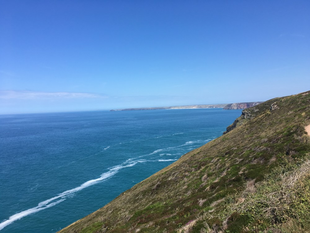 The view NE from St Agnes Head, Cornwall (LEJoG Day 4)