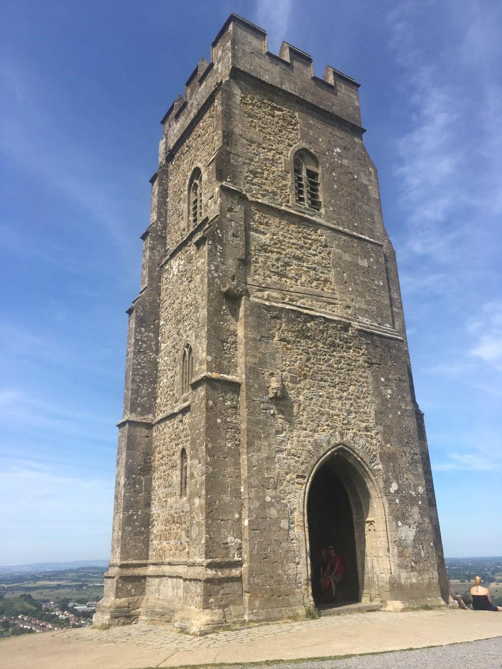 St Michael's Tower, Glastonbury Tor, LEJoG Day 21