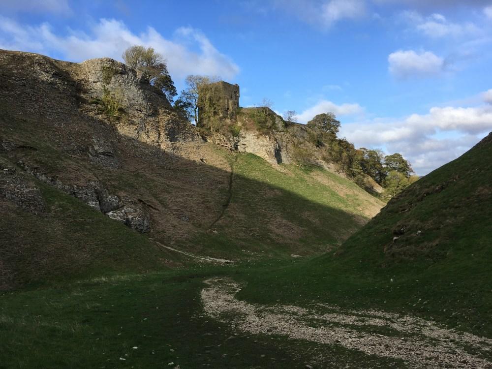 Peveril Castle, LEJoG Day 38