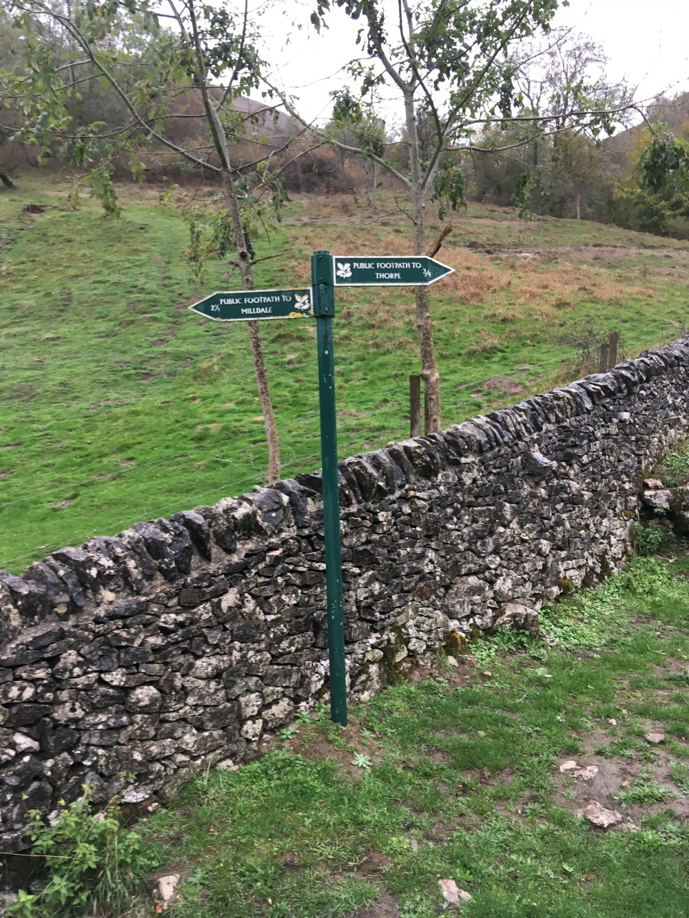 Signpost for Milldale