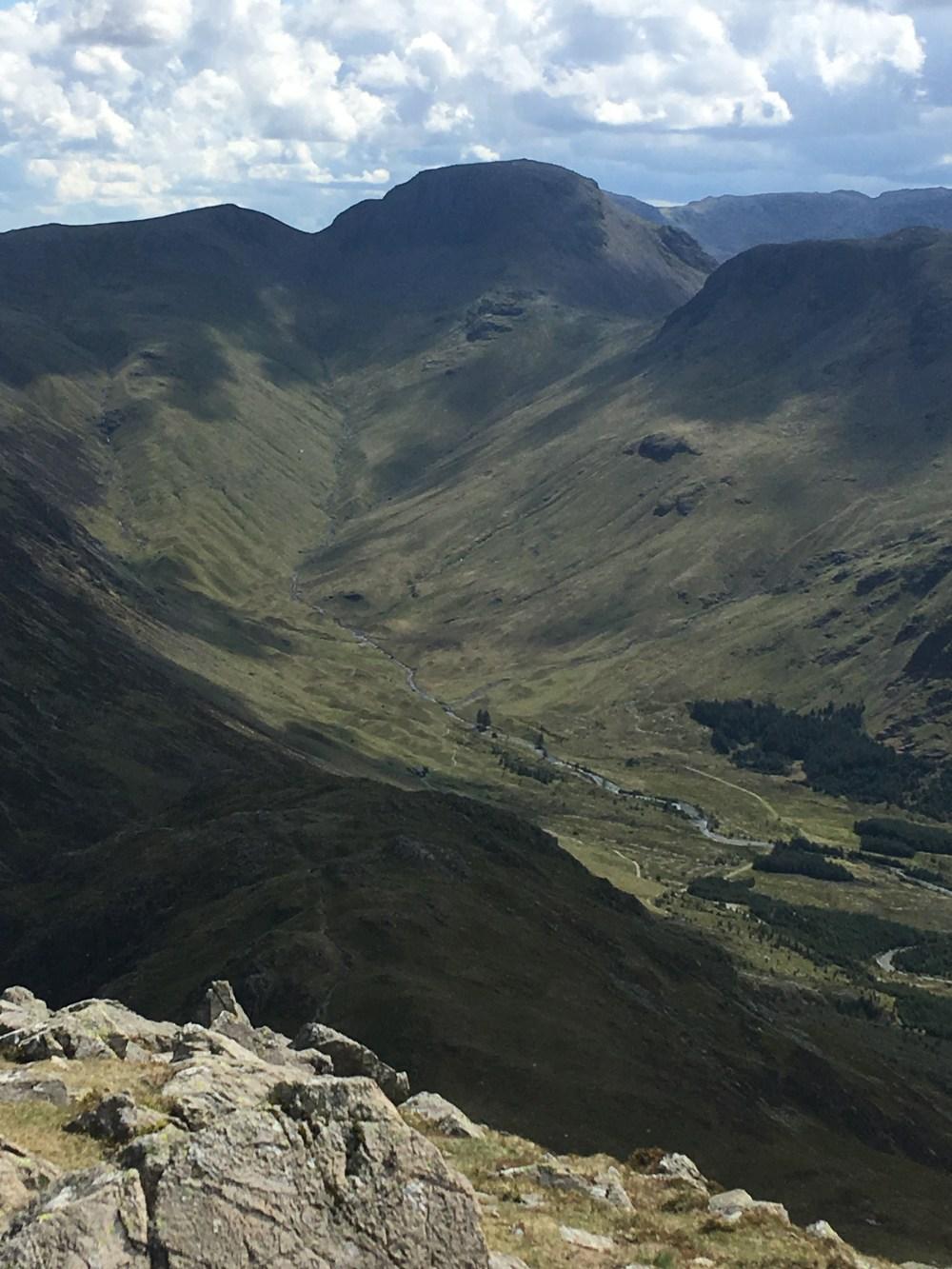 16 High Crag towards Haystacks