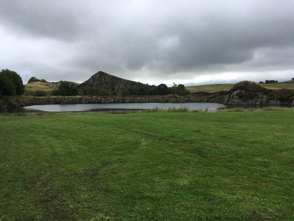 Burnhead lake, LEJoG Day 54