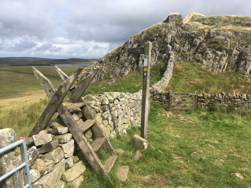 Leaving Hadrian's Wall
