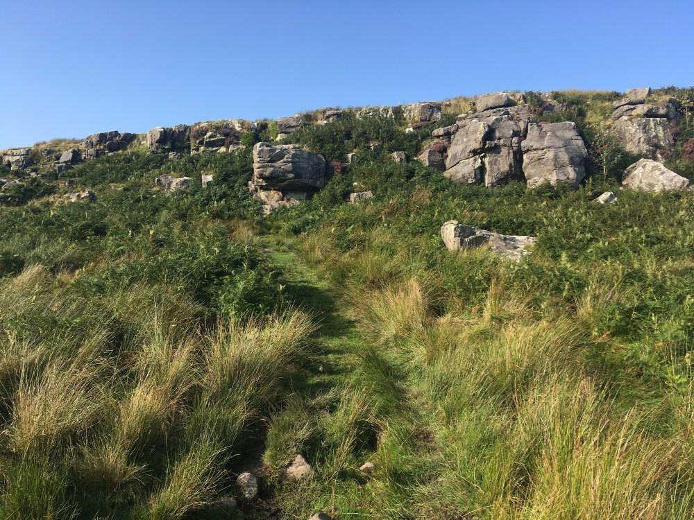 Shitlington Crag, LEJoG Day 54