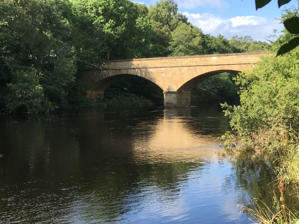 North Tyne bridge nr Bellingham, LEJoG Day 55