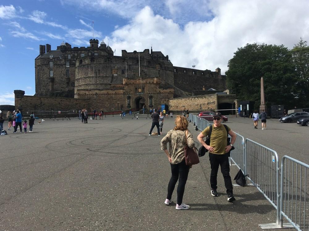 Edinburgh Castle Sat