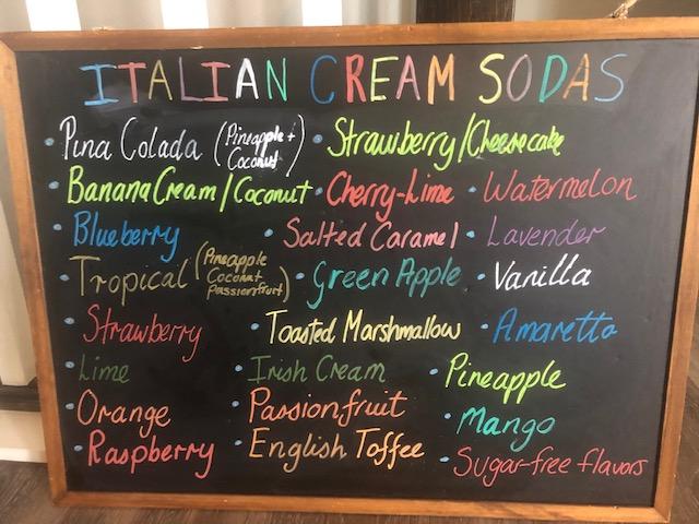 Italian Cream Sodas
