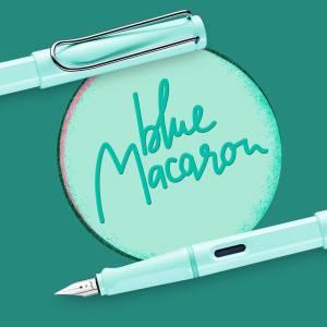 Blue Macaroon