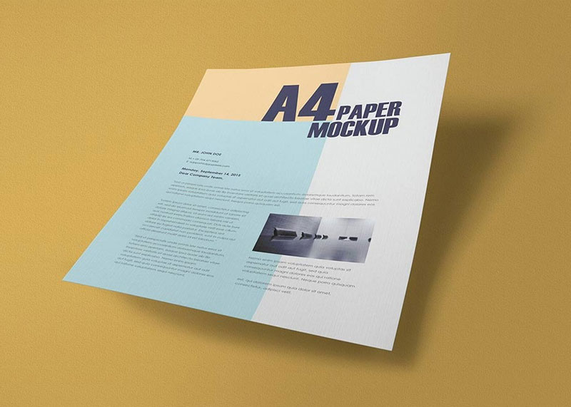 50 High Quality Free Paper Mockup PSD Graphic Resources For All Designers