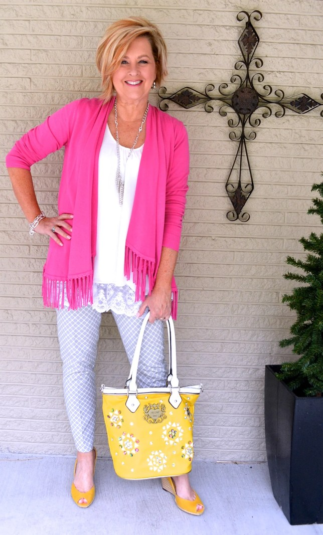 50 Is Not Old | Pink and Yellow
