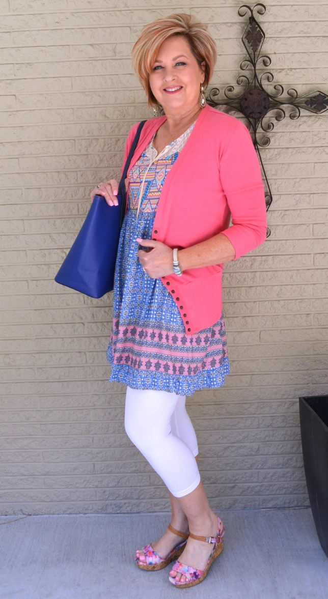 50 IS NOT OLD | BLUE WHITE & FLORAL