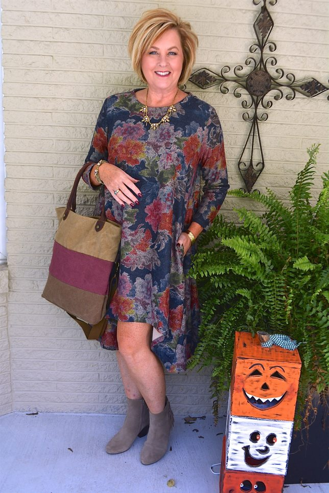 50 IS NOT OLD   HIGH/LOW DRESS FOR FALL