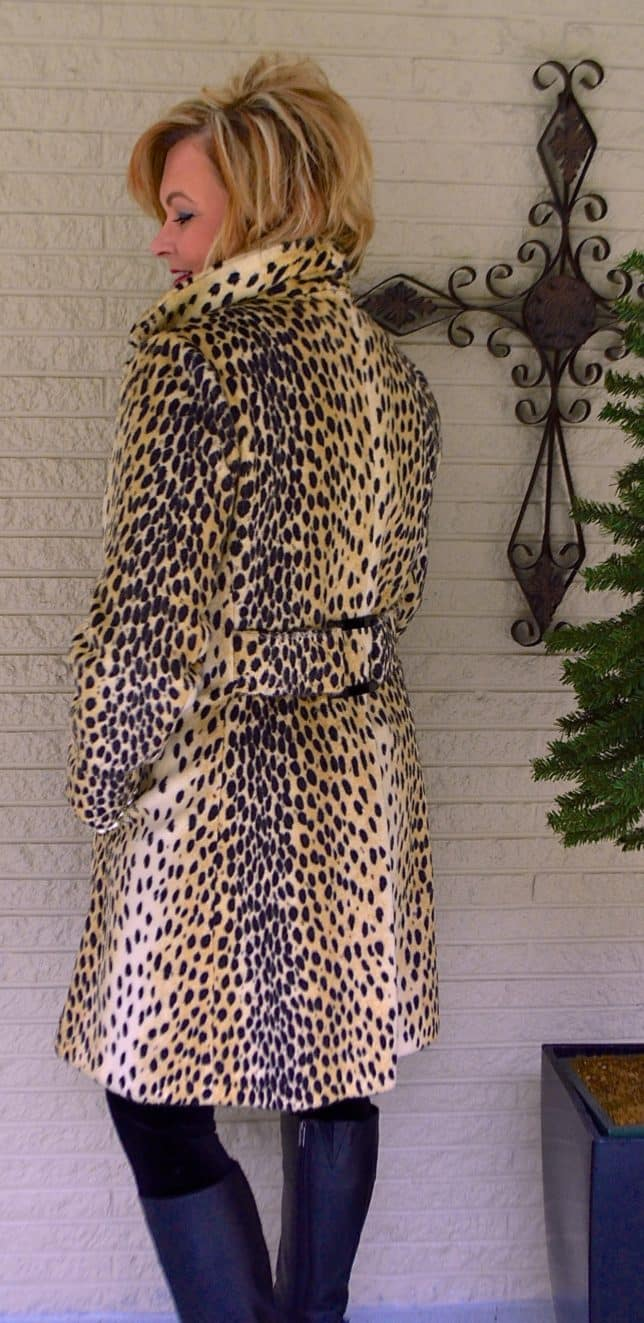 50 IS NOT OLD | VINTAGE CHEETAH COAT