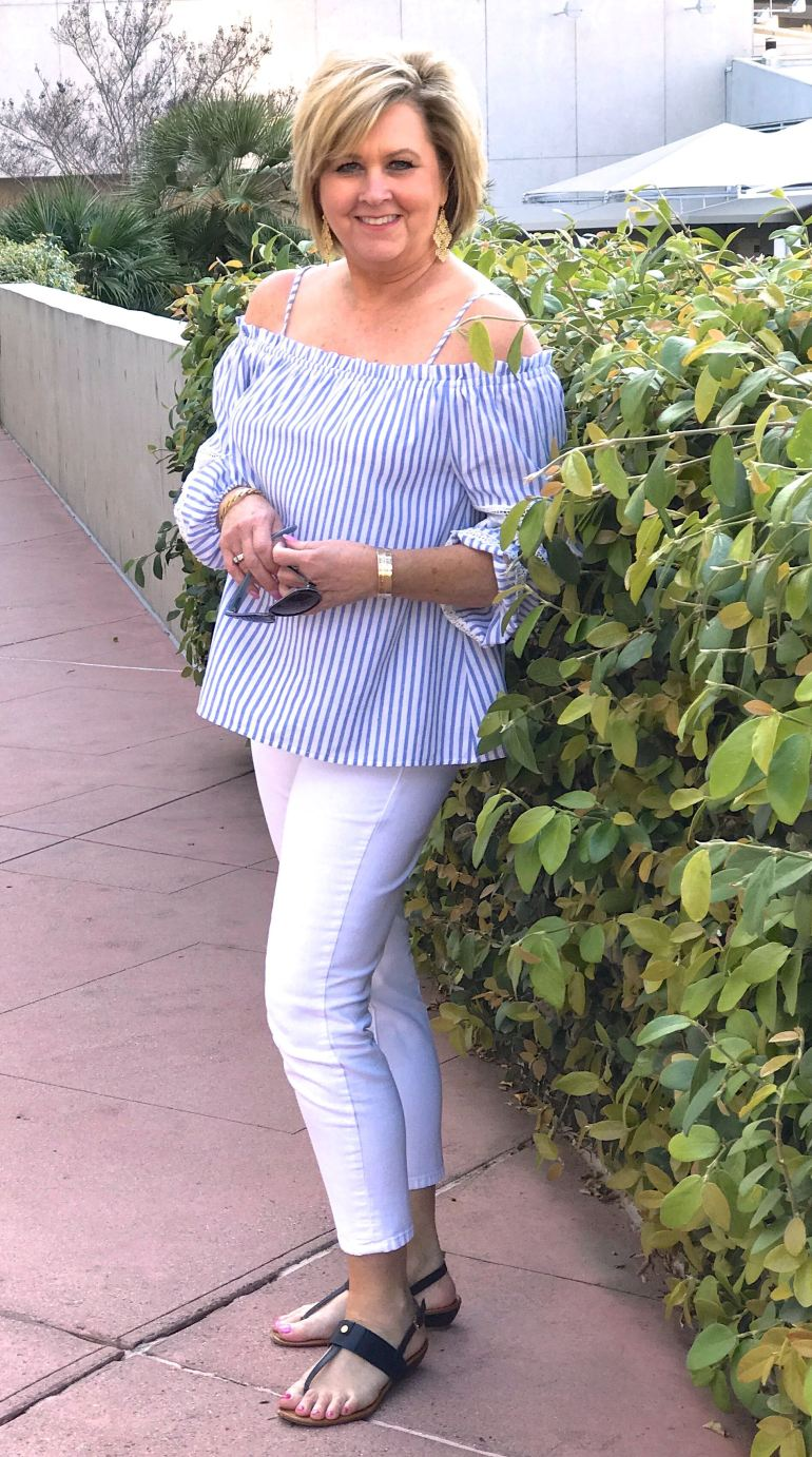 50 IS NOT OLD | OFF THE SHOULDER STYLE
