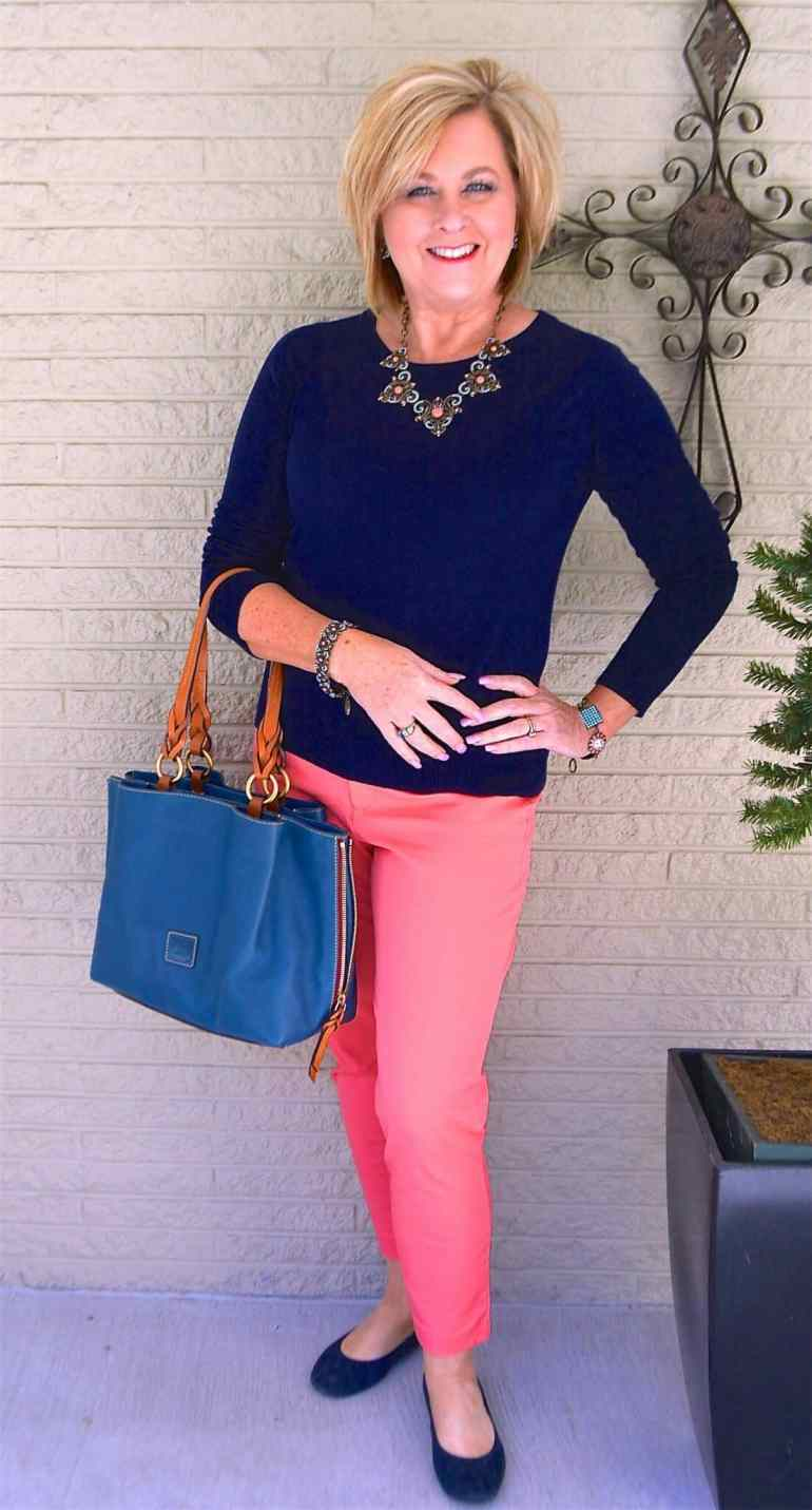 50 IS NOT OLD   HOW TO STYLE WITH TWO SOLID COLORS