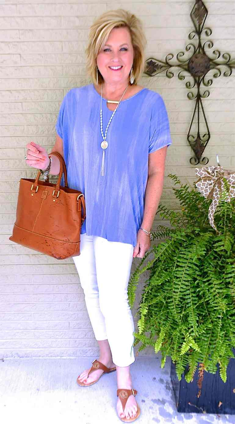 50 IS NOT OLD | A SUMMERTIME OUTFIT