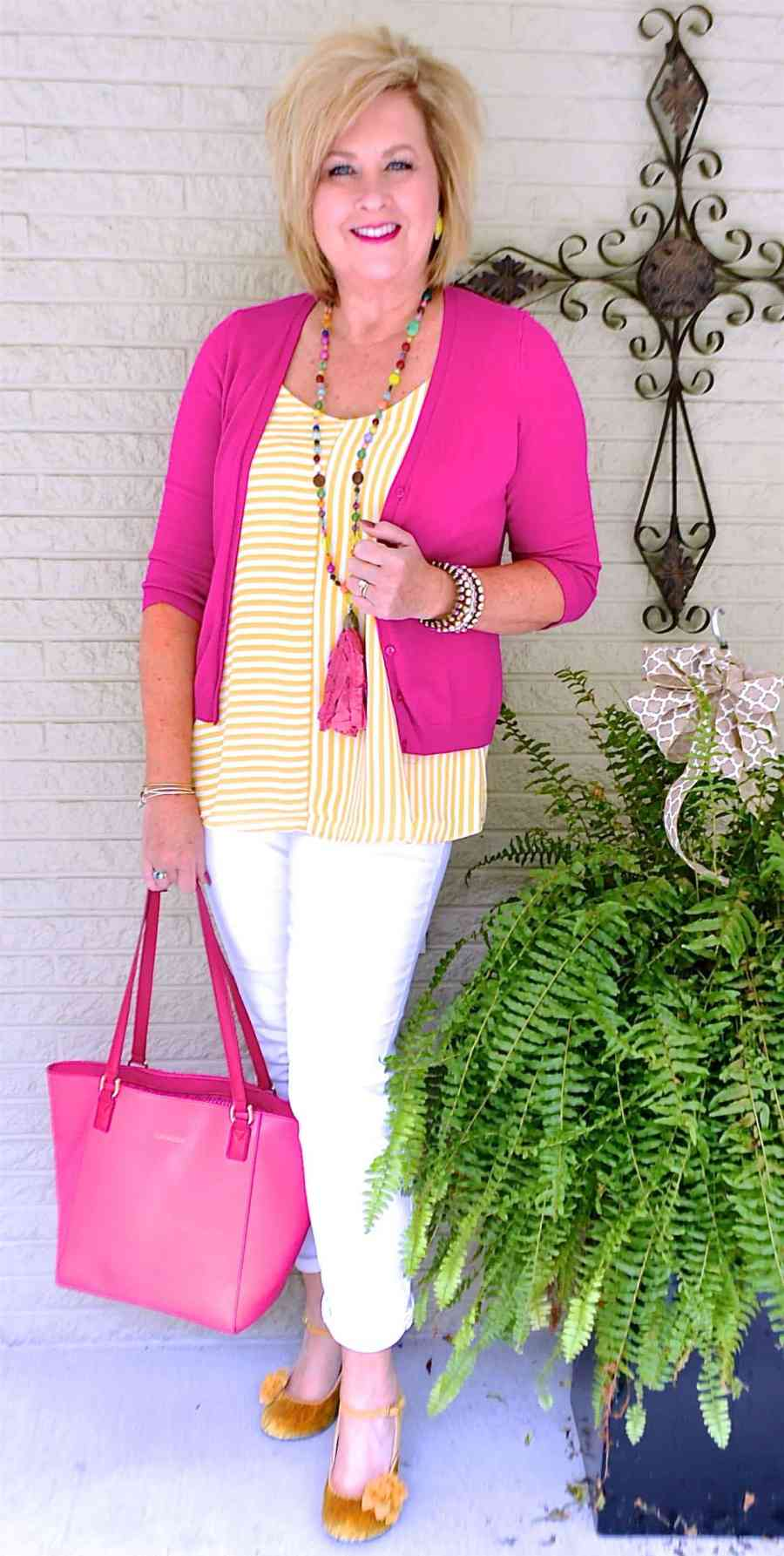 50 IS NOT OLD | STRIPES ARE A SUMMER TREND