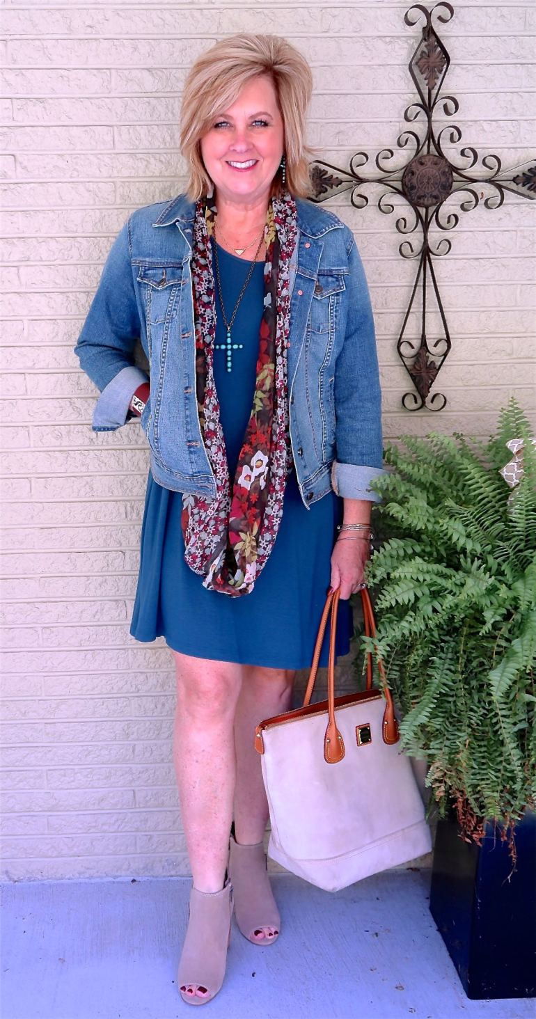 50 IS NOT OLD | SWINGING WITH A DENIM JACKET